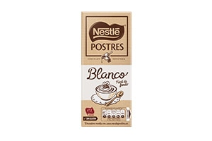 Chocolate Blanco NESTLÉ Postres